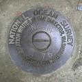 National Ocean Survey Tidal Benchmark 841 3320 TIDAL 14