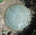 NGS Triangulation Station Disk JOHN BROWNS GRAVE