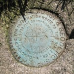 NGS Reference Mark Disk JOHN BROWNS GRAVE RM 2
