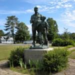NGS Landmark/Intersection Station JOHN BROWN MONUMENT