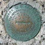 NGS Reference Mark Disk WHITEFACE MTN RM 1