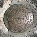 NGS Reference Mark Disk WHITEFACE MTN RM 2