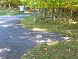 Looking NE toward Stony Man Trailhead.