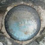 USGS Transit Traverse Station TT 14 D=STONY MAN