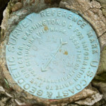 NGS Reference Mark Disk TT 14 D=STONY MAN RM 2