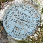NJGS Geodetic Control Survey Disk WARNER NJGS