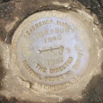 NGS Reference Mark Disk KINGSBURY RM 3