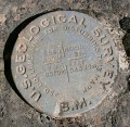 USGS Bench Mark Disk 5866 CANYON