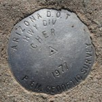 Arizona DOT Survey Mark CHER
