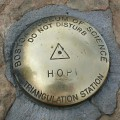 Boston Museum of Science Triangulation Station Disk HOPI