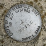 Army Corps of Engineers Survey Mark STILL