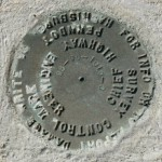 PennDOT Survey Mark 96-36-1016-3