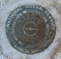 National Ocean Survey Tidal Benchmark 841 3320 TIDAL C