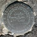 USGS Bench Mark Disk K 10