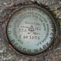 USGS Bench Mark Disk K 25