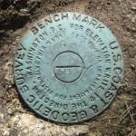 NGS Tidal Bench Mark Disk TIDAL 8 STA 12