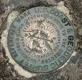 NGS Reference Mark Disk FERNALD HILL 1870 RM 1