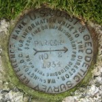 NGS Reference Mark Disk PARKER 1870 RM 2