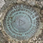 NGS Triangulation Station Disk WEST PEAK