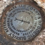 NGS Reference Mark Disk WEST PEAK RM 2
