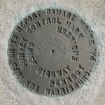 PennDOT Survey Mark 96-36-1018-4