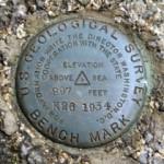 USGS Bench Mark Disk K 26