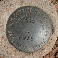 National Park Service Survey Mark A 46