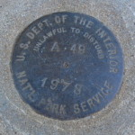 National Park Service Survey Mark A 49