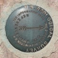 USGS Reference Mark Disk FLATTOP RM 2
