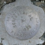 Arizona DOT Triangulation Station Disk SCHEURMAN MT
