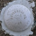 Arizona DOT Reference Mark Disk SCHEURMAN MT RM 1