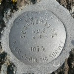 Arizona DOT Reference Mark Disk SCHEURMAN MT RM 2