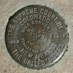 U.S. Supreme Court Boundary Monument BOUNDARY MI COR 330 CO NM