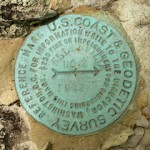 NGS Reference Mark Disk ELLENVILLE RM 2