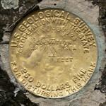 USGS Bench Mark Disk TT 5 J