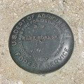U. S. Forest Service Bench Mark Disk 3062.26