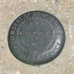 U. S. Forest Service Bench Mark Disk 3062.26