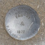 AZDOT Survey Mark VAH KI