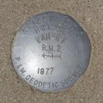 AZDOT Reference Mark Disk VAH KI RM 2
