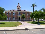 Looking E toward the old Pinal County courthouse