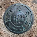 PA Dept. of Highways Survey Mark D 232 PADH