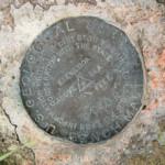 USGS Bench Mark Disk TT 40 R