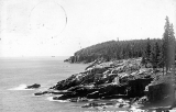 Otter Point Lookout Tower, postmarked 1927