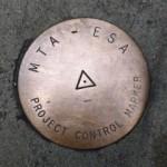MTA Project Control Marker MTA-ESA (Unstamped)