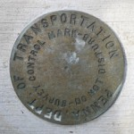 PennDOT Survey Control Mark (Unstamped, #2)