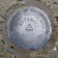 MaineDOT Survey Control Mark 16718-11