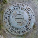 National Ocean Service Tidal Bench Mark Disk 841 4721 B TIDAL