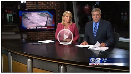KUTV spot on navigation arrows