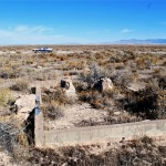 Remains of beacon near Delta, UT