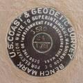 NGS Tidal Bench Mark Disk 872 4580 TIDAL 24